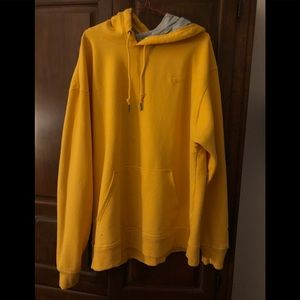 Authentic champion XL yellow hoodie brand new